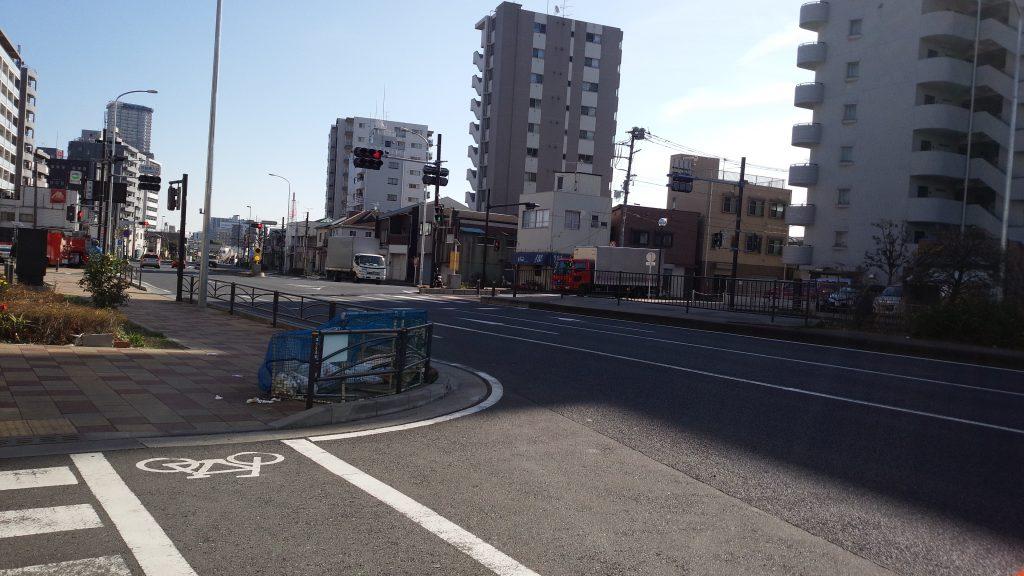 横浜小鳥の病院、川崎方面
