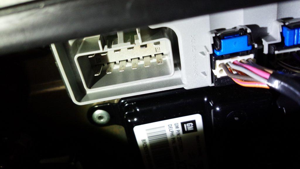 シートヒーターモジュール端子
