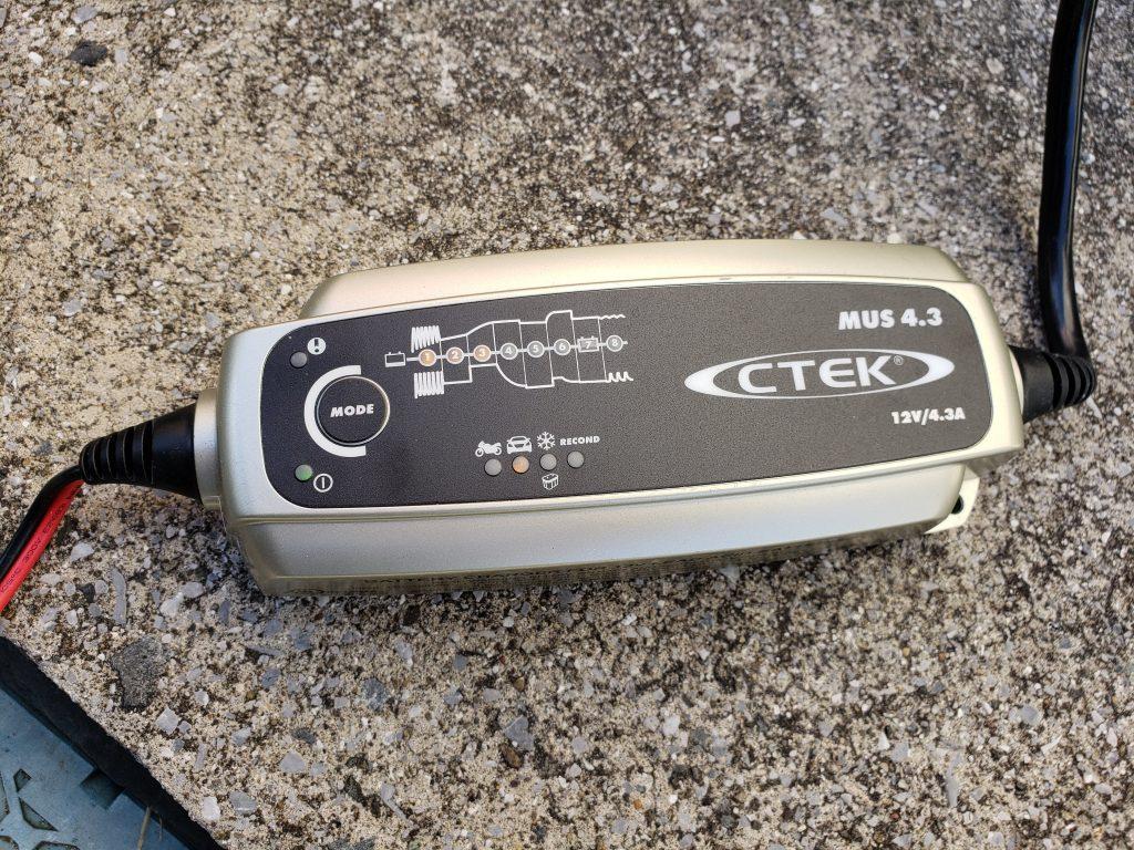 CTECバッテリーチャージャー